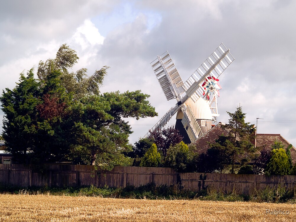 A Norfolk Windmill by Ralphco
