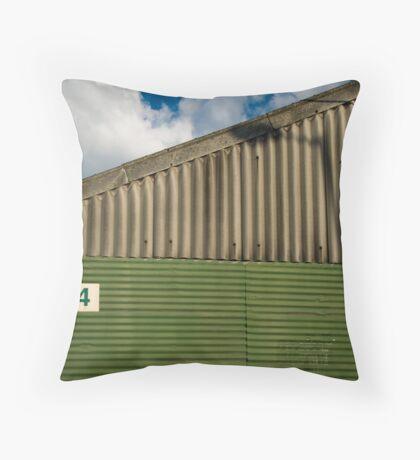 2012 London Olympic Pre-Demolition Green 4 Throw Pillow