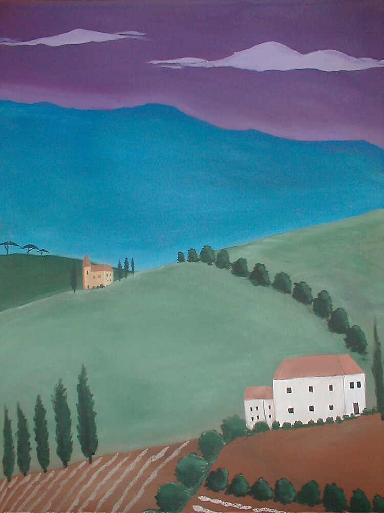 alpine Folk Art by aline