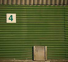 2012 London Olympic Pre-Demolition Green 5 by Adrian Rachele