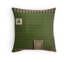 2012 London Olympic Pre-Demolition Green 5 Throw Pillow