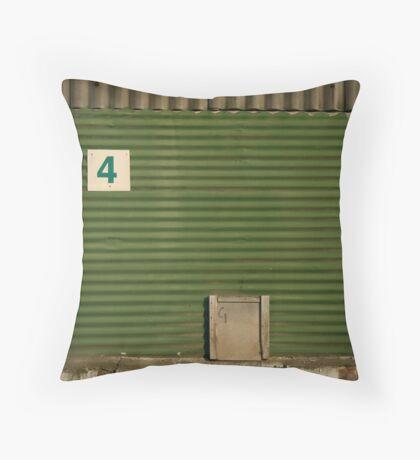 2012 London Olympic Pre-Demolition Green 5 Throw Pillow