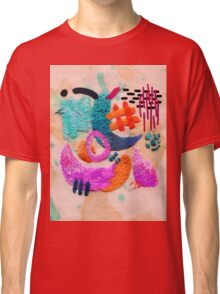 abstract embroidery Classic T-Shirt