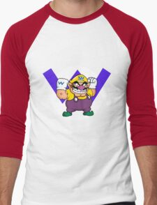 Wario! Men's Baseball ¾ T-Shirt