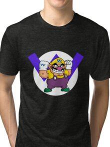 Wario! Tri-blend T-Shirt