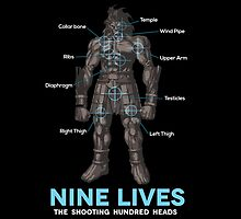 Nine Lives Blade Works - Black by Yakei
