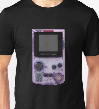 Purple translucent gameboy color Unisex T-Shirt