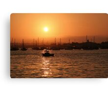 Fourth of July Sunset Canvas Print
