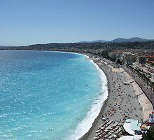 Nice Beach by Howardzin