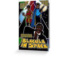 Spaceploitation Cinema: Blacula in Space Greeting Card