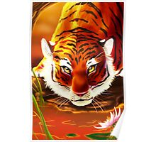 Eyes of the Tiger Poster