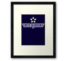 Nova Squadron Framed Print