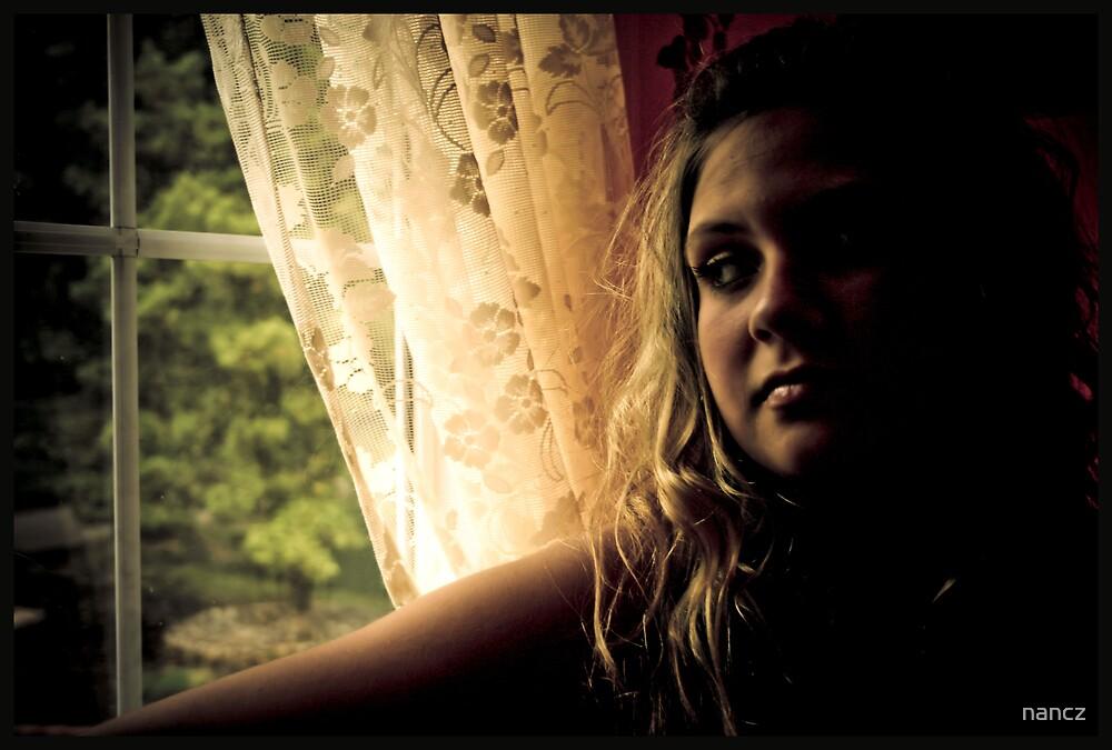 She waits.......... by nancz