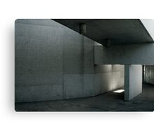 Concrete Space Canvas Print