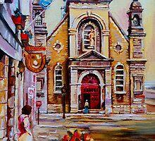 CANADIAN URBAN PAINTINGS MONTREAL SCENES BY CANADIAN ARTIST CAROLE SPANDAU by Carole  Spandau