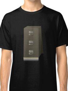 Glitch Groddle Land cubicle cabinet base Classic T-Shirt
