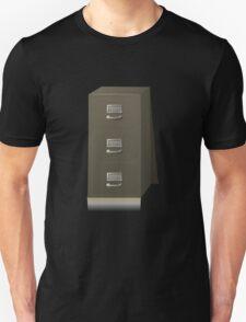 Glitch Groddle Land cubicle cabinet base T-Shirt