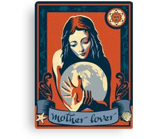 I Am A Mother Lover Canvas Print