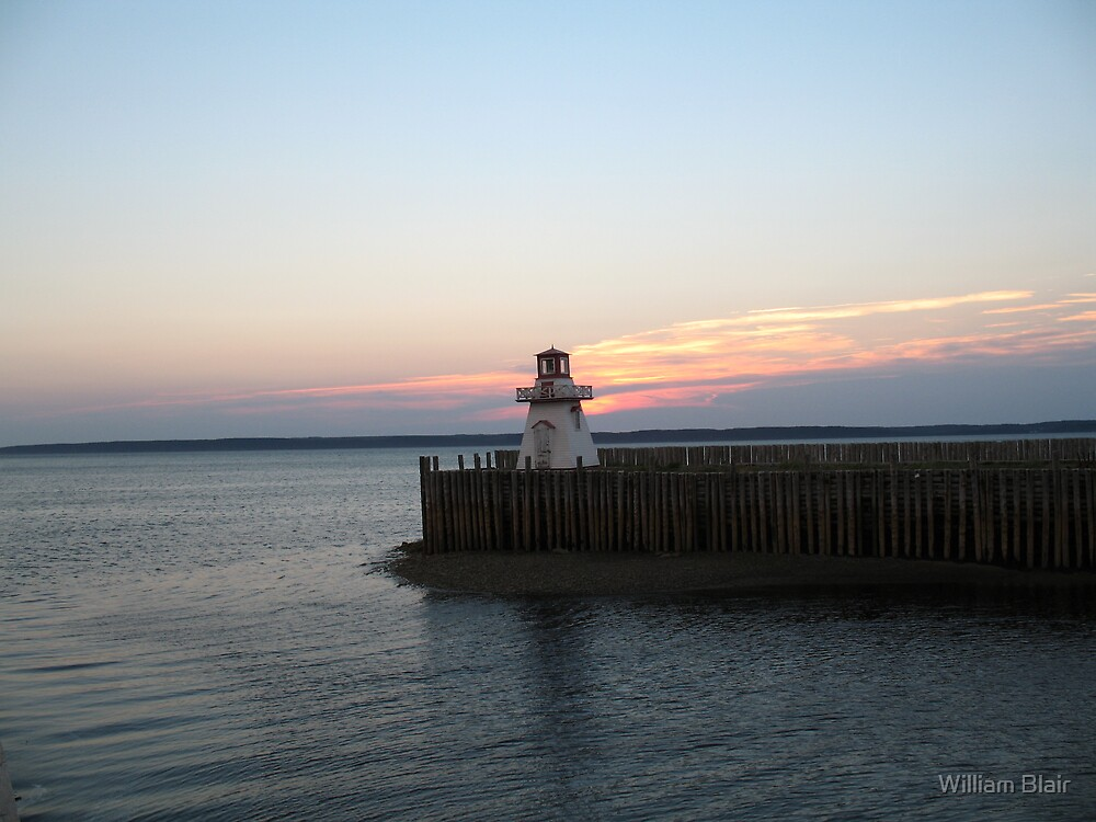 St Bernard Lighthouse by William Blair