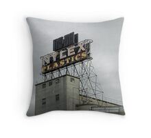 Nylex Clock Throw Pillow