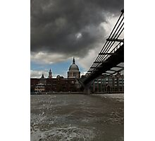 St Paul's From the river  Photographic Print