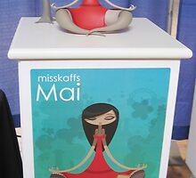 Misskaffs: Mai vinyl toy prototype launch by Skaffs