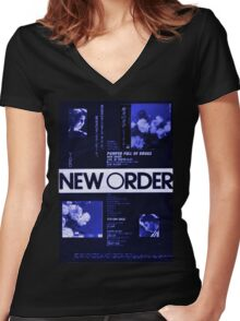 New Order  Women's Fitted V-Neck T-Shirt