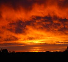 Sunrise over Mylor by sunridge