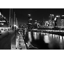 One night in Melbourne Photographic Print