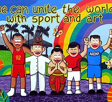 Unite the World by mbanyak