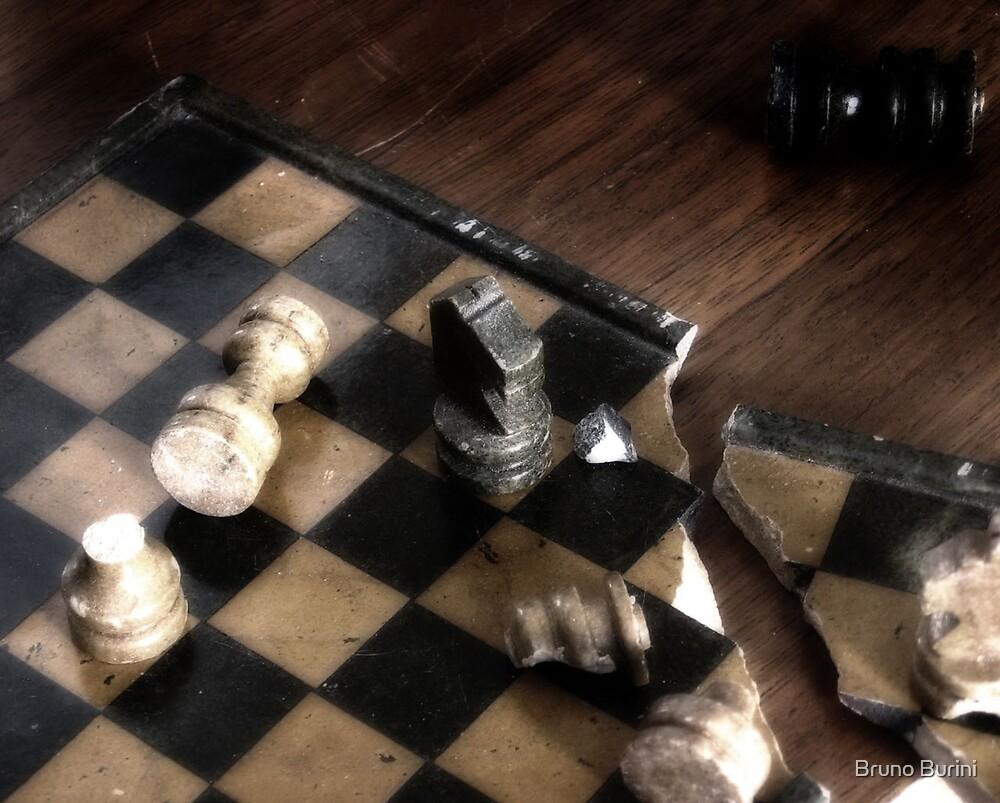 Broken Chess by Bruno Burini
