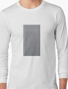 Glitch Groddle Land cubicle wall center Long Sleeve T-Shirt