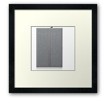 Glitch Groddle Land cubicle wall double Framed Print