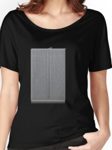 Glitch Groddle Land cubicle wall double Women's Relaxed Fit T-Shirt