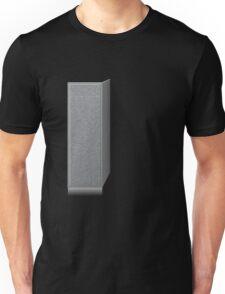 Glitch Groddle Land cubicle wall left Unisex T-Shirt