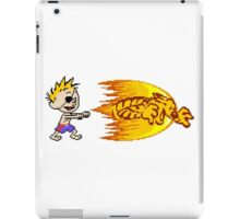 Calvin Tiger Shot iPad Case/Skin