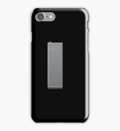 Glitch Groddle Land cubicle wall right iPhone Case/Skin