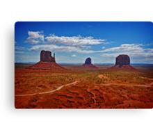 Monument Valley, Arizona. Canvas Print