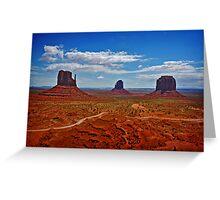 Monument Valley, Arizona. Greeting Card