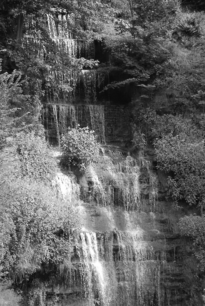 Wetheral Waterfall 2 by Maddie