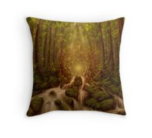 Divine Encounter Throw Pillow