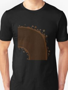 Glitch Groddle Land curve top T-Shirt