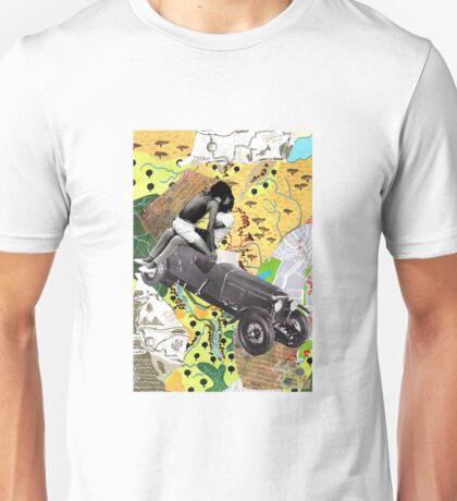 A donde vamos no necesitamos caminos Unisex T-Shirt