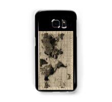 Scratched Map Case (Samsung Galaxy) Samsung Galaxy Case/Skin