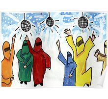 Burqa Disco Poster