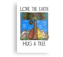 Tree-huggers Metal Print