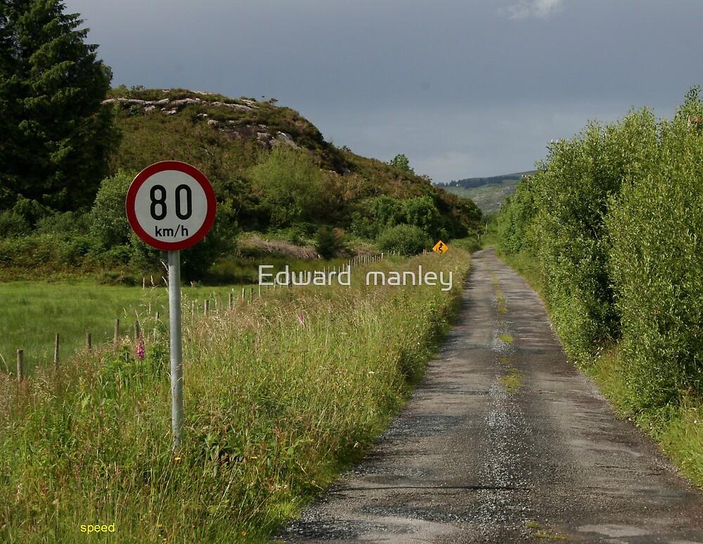 Irelands speed way. by Edward  manley