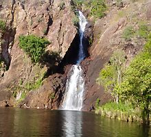 another water fall by Rebecca and Geoff Hitch