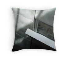 Grey Jungle Throw Pillow