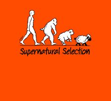 Supernatural Selection (on Light backgrounds) Unisex T-Shirt